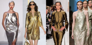 11 Ways to Try Fall's Hot Metallic Trend