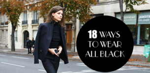 18 Chic Ways for Women to Wear All Black