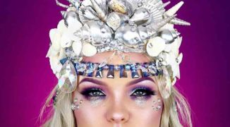 Transform into a Mermaid With This Ghoulish Glam Halloween Makeup Tutorial