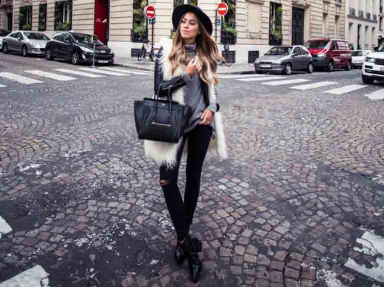 15 Chic Ways to Wear Womens Faux Fur Vest