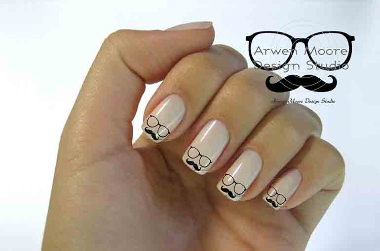 Cute Movember Nail Designs That Will Leave You Speechless