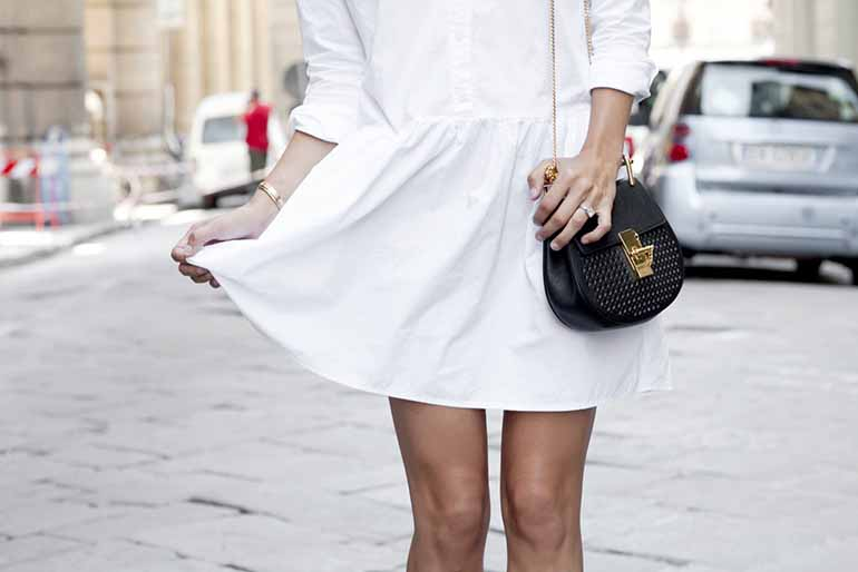 How to Transition Your White Dress for Fall